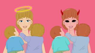 babysitter jahat dan baik