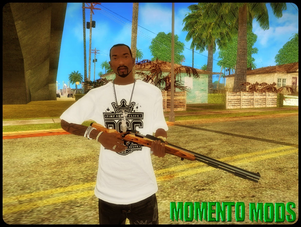 GTA SA - Mod Adicionar/Remover Scope (Optica) Da Rifle