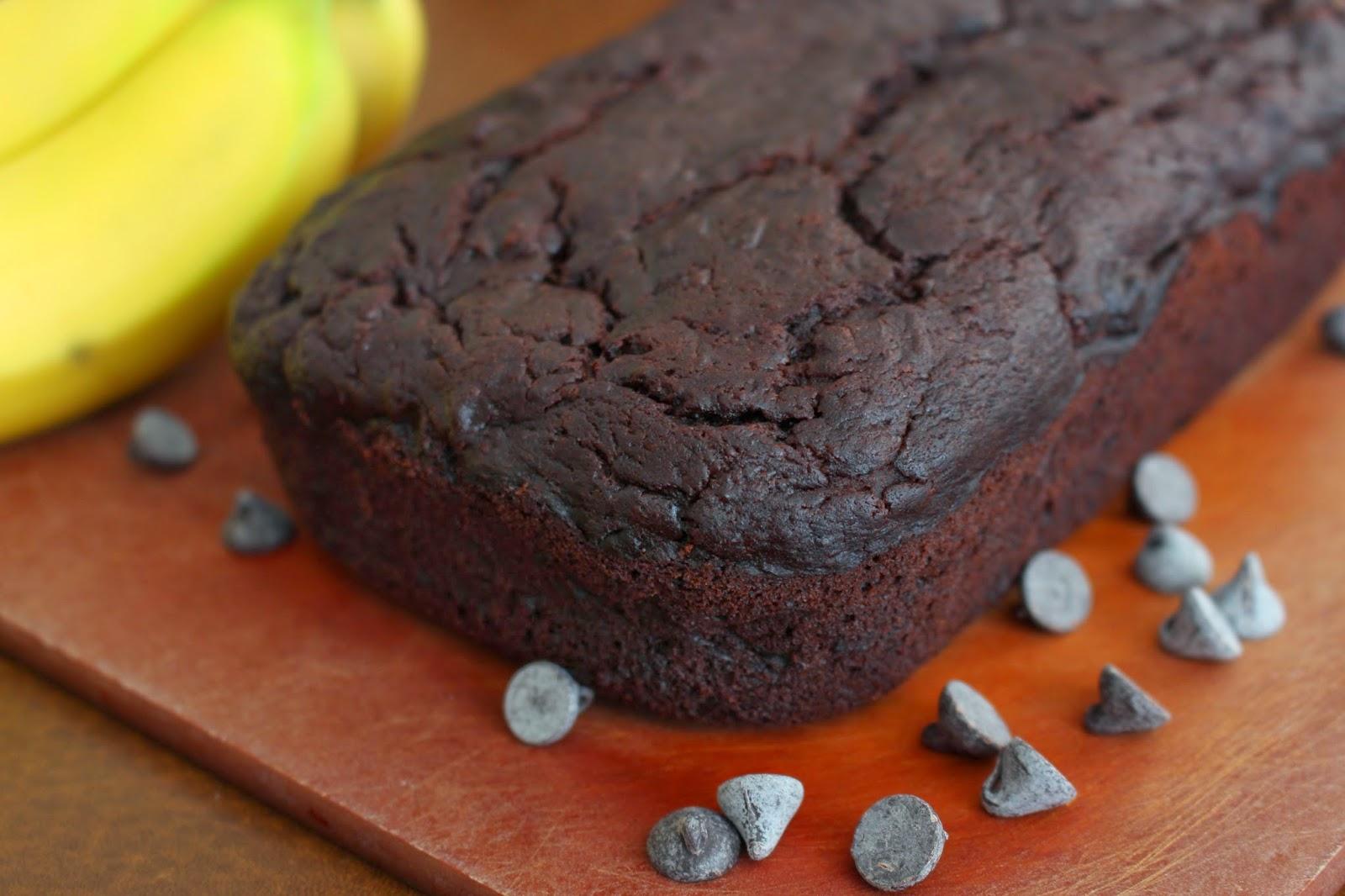 Double Chocolate Banana Bread — Pass the Cocoa