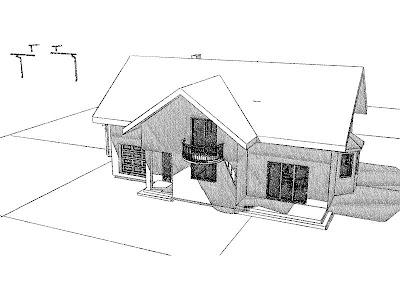 Architekt Rzeszów. Dom jednorodzinny, ogród zimowy, garaż, wiata, SPA.