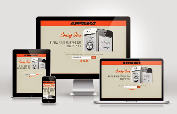 Free Responsive Coming Soon Page Template