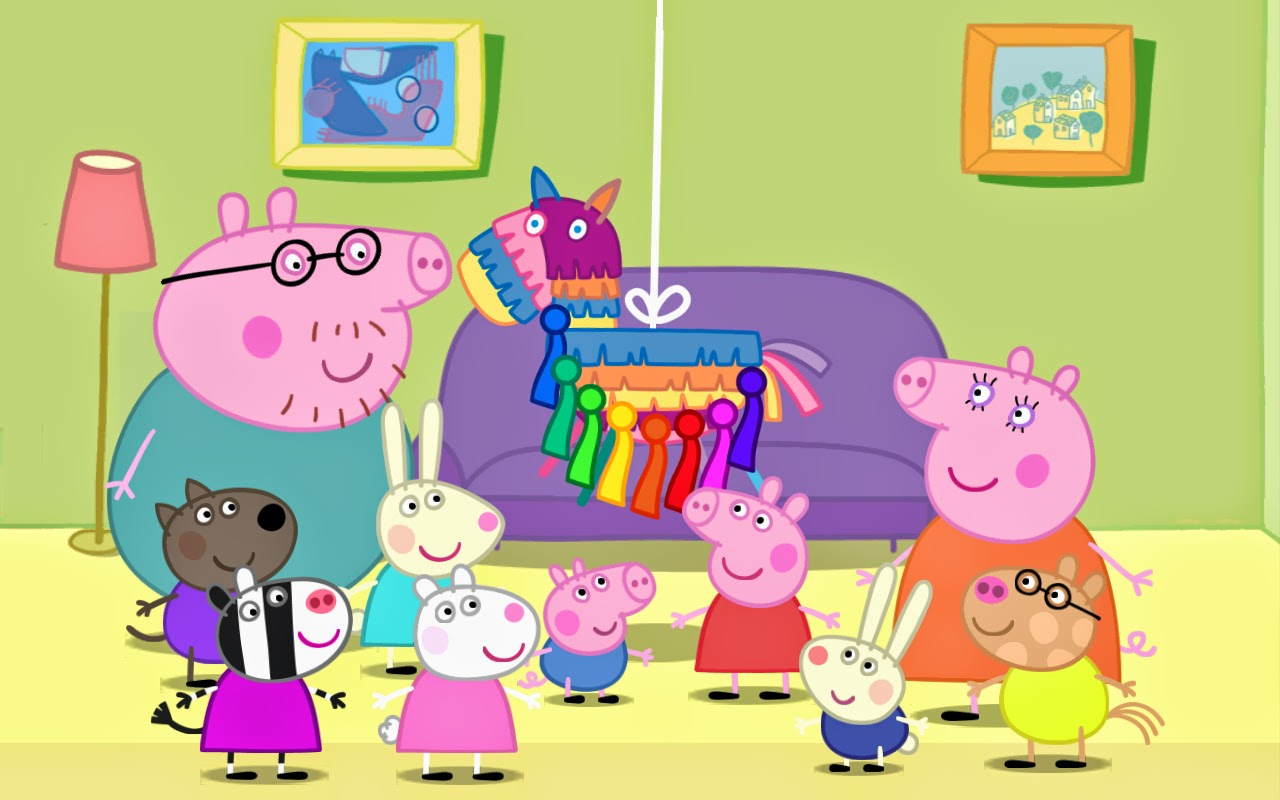 Peppa Pig pinata game