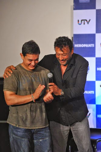 Aamir Khan Launch First Look of Heropanti Movie Gallery