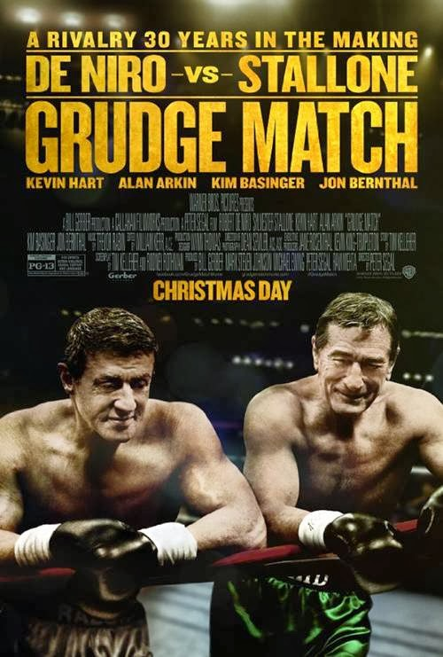 Grudge Match movie promo art