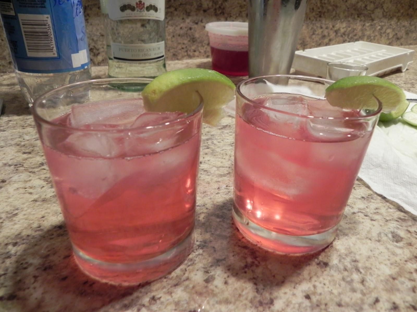 Pomegranate Rum Cooler – The Adirondack Chick