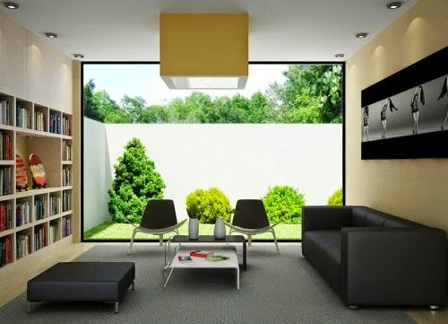 Minimalistisches haus interior design und startseite von petite