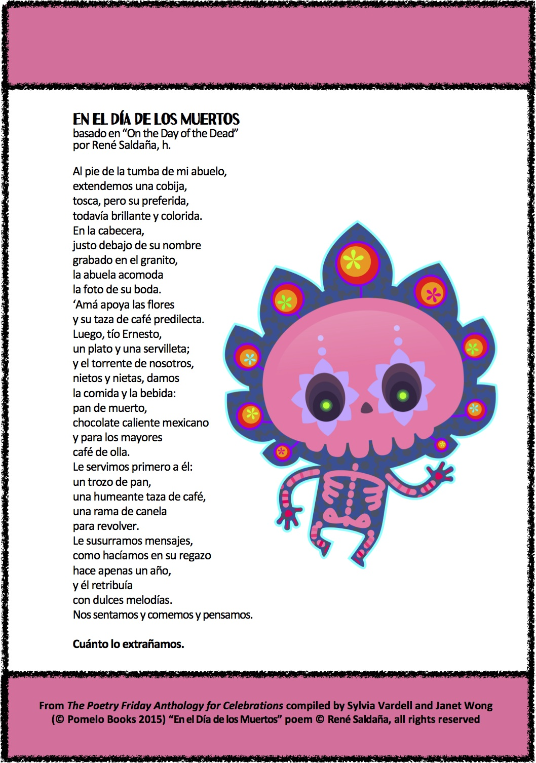 day of the dead essay in spanish The day of the dead is a very special day for the spanish speaking world this day is more popular for mexican people, it is more traditional in their heritage it occurs on the first of november.