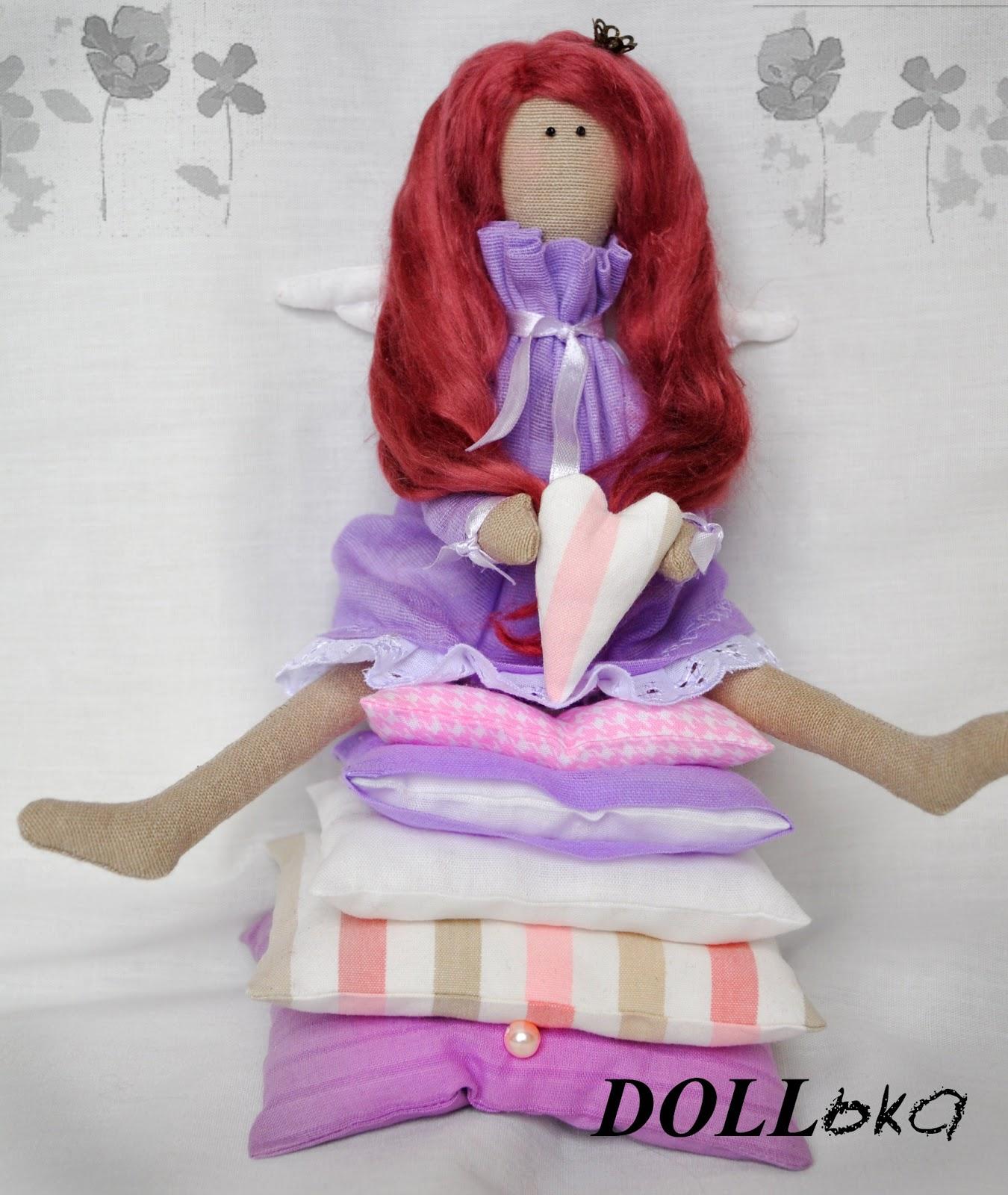 Тильда принцесса текстильная игрушка
