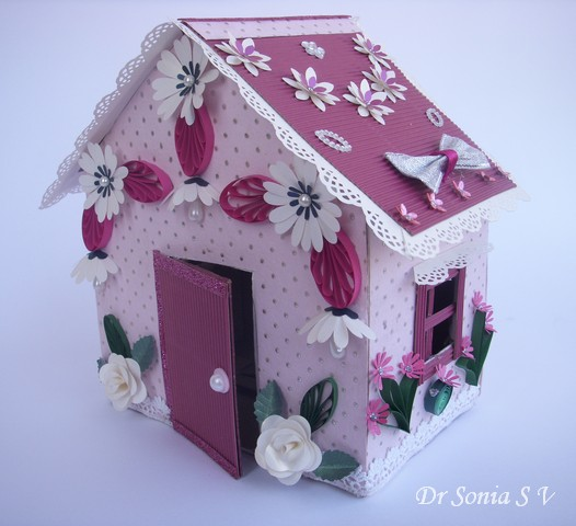 cards crafts kids projects recycling craft doll house