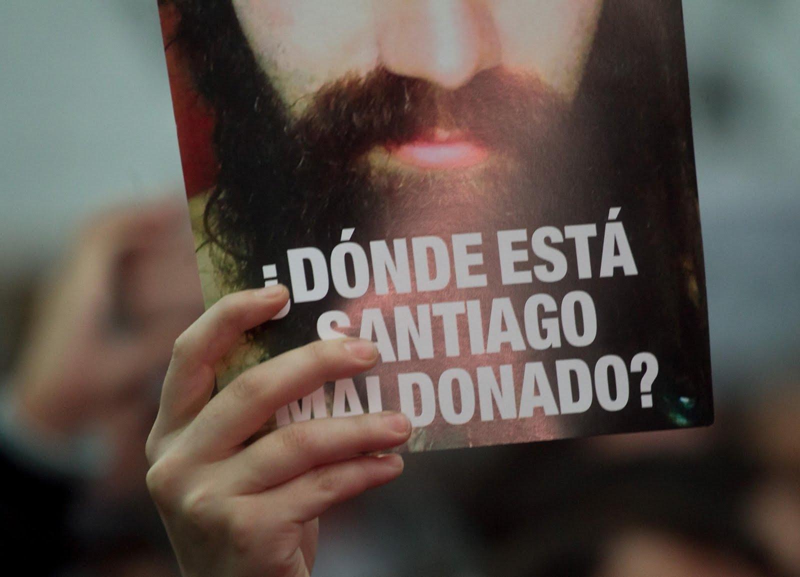 SANTIAGO MALDONADO DESAPARECIDO