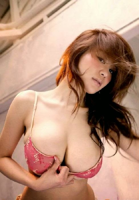 hot girl wearing pink bra