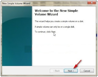 Cara membuat partisi hardisk di windows 7