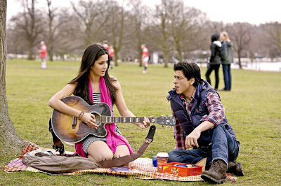 Shahrukh and katrina lovely stills