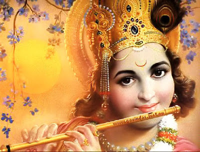Image : Lord Krishna playing Flute