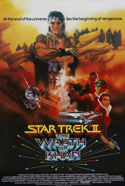 Star Trek II  The Wrath of Khan  1982 Wrath Of Khan Costume