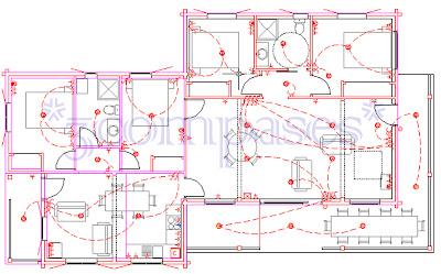 3compases proyecto de una casa de madera - Hacer plano de mi casa ...