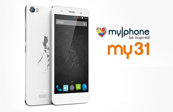 Myphone My31 Now Official  U2013 Complete Specs  Official Price
