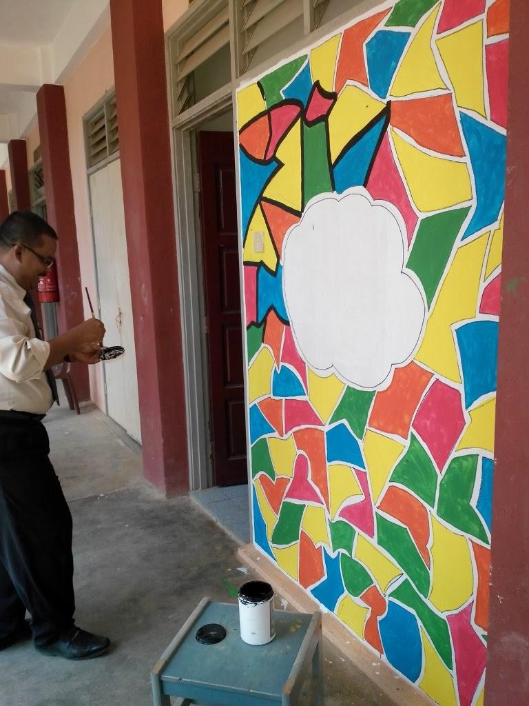 Sk lubok merbau program keceriaan sekolah fasa 1 for Mural sekolah