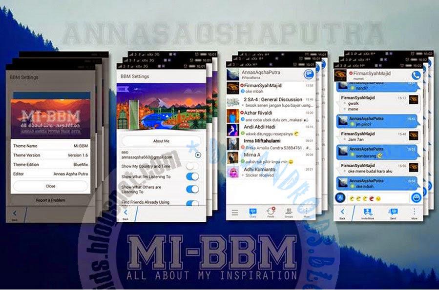 download MI-BBM Mod Edition Tema BlueMix  2.7.0.23