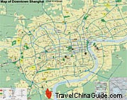 Shanghai Downtown Map