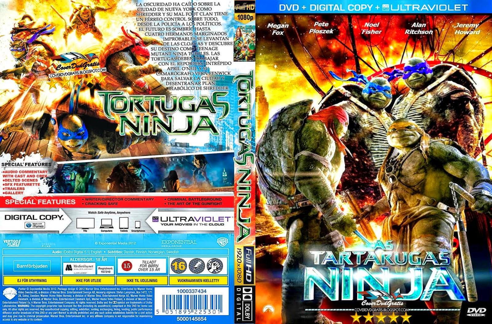 Las Tortugas Ninja DVD 2014