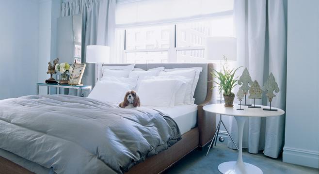 monica livas interiors blue white inspiration