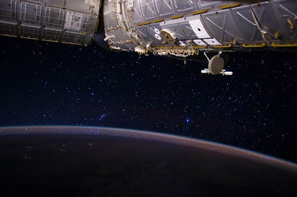 ORION'S BELT  IS SEEN FROM THE INTERNATIONAL SPACE STATION