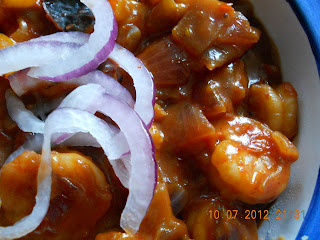 shrimp chilli