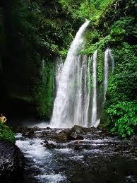 Tempat Wisata Pilihan Air Terjun Sendang Gile Lombok