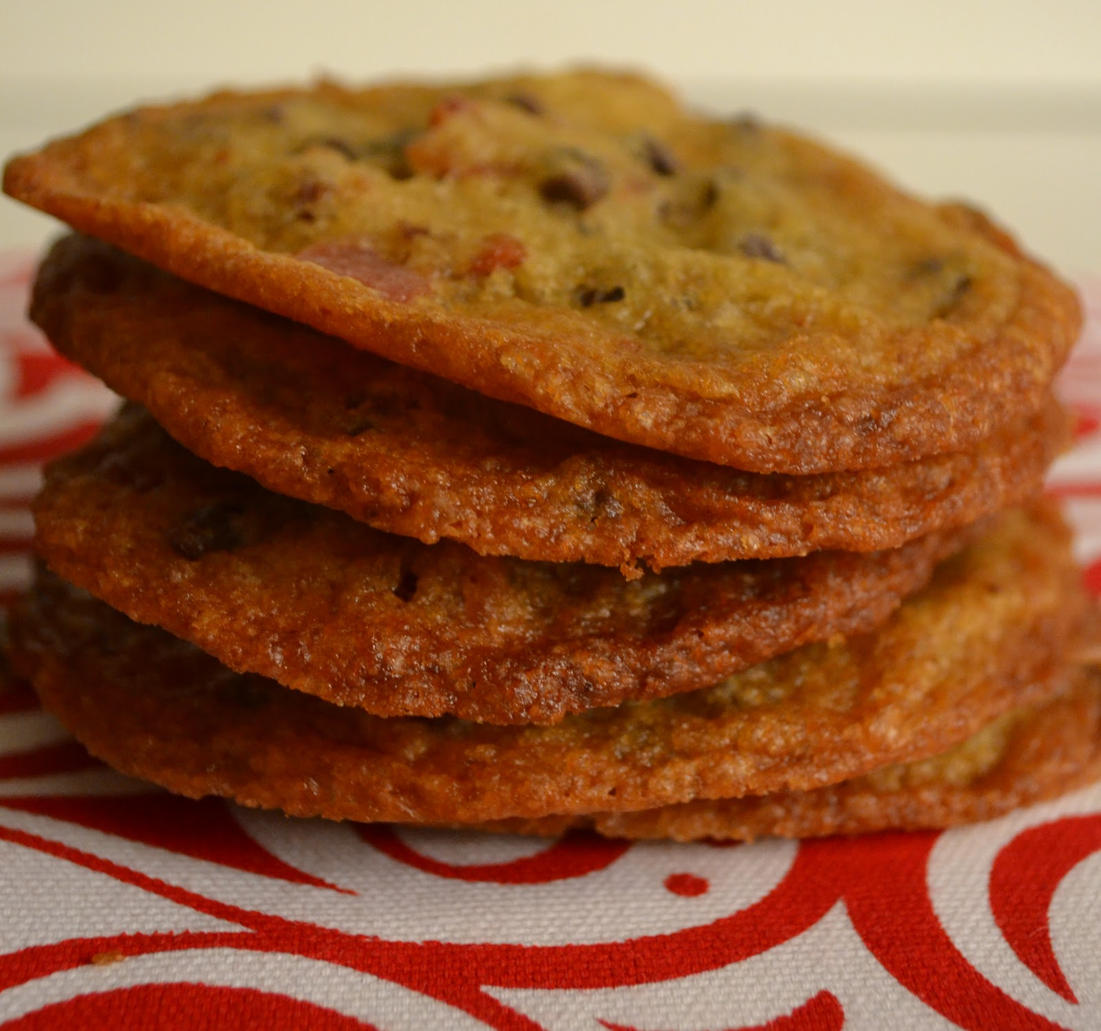 Maple Bacon Chocolate Chip Cookies