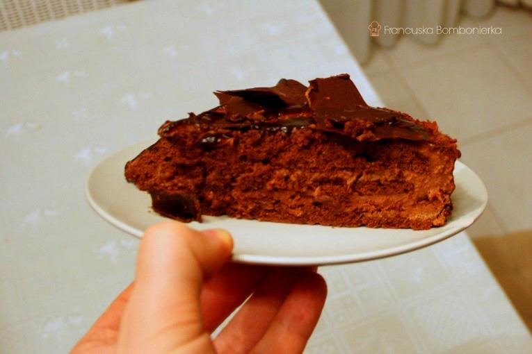 tort czekoladowy przepis, tort urodzinowy
