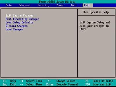 exit-BIOS