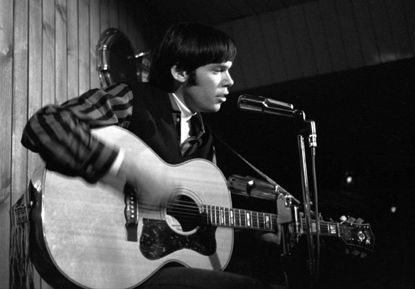 Neil Young in Toronto, 1965