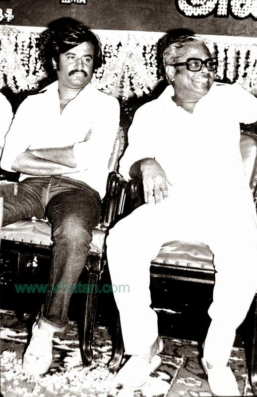 Super Star Rajinikanth & K. Balachander