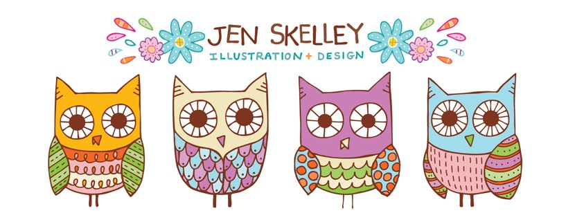 The Illustration of Jen Skelley
