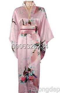 cho thuê trang phục kimono nhật