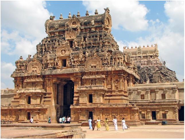 Brihadeshwara Temple in Tamil Nadu