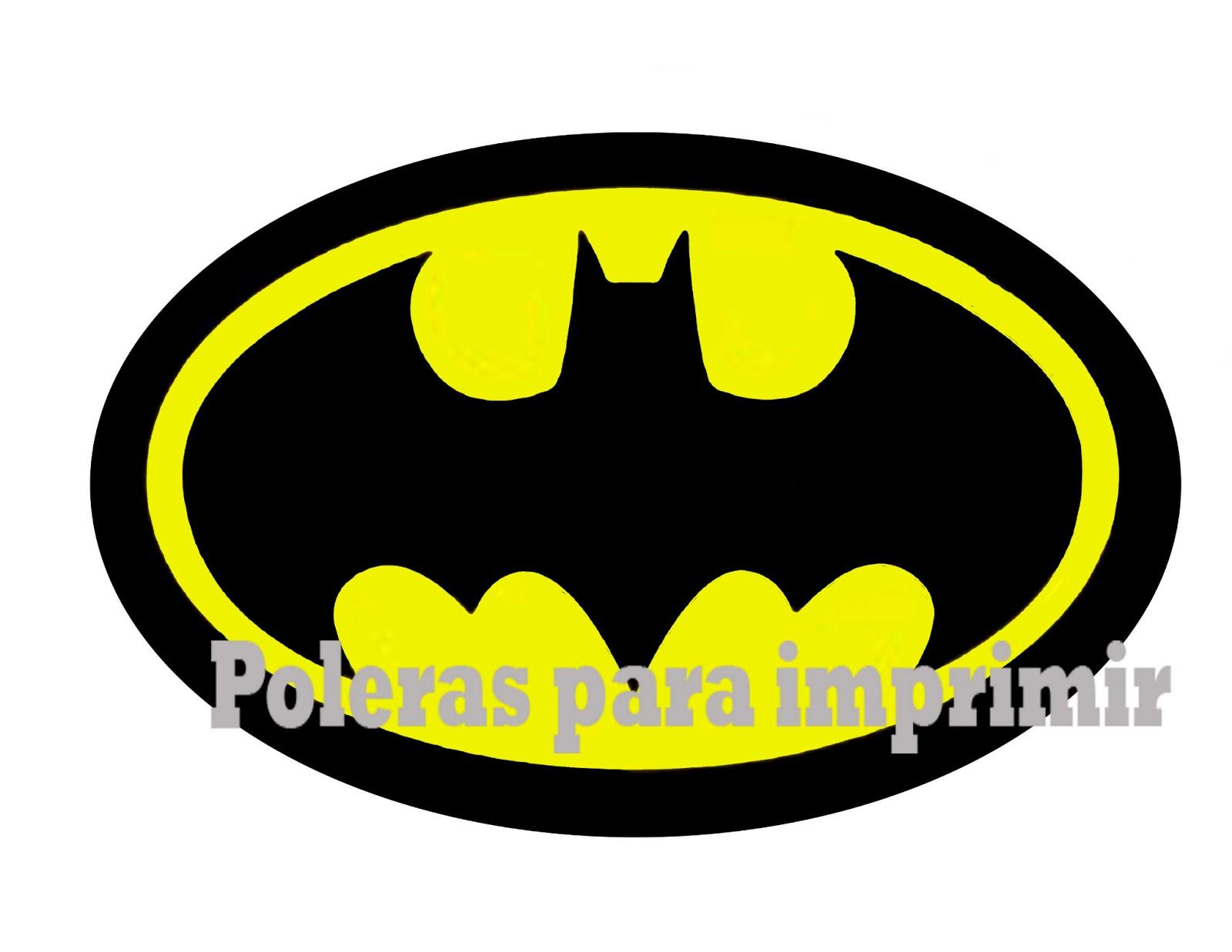 Poleras para imprimir: Super Heroes