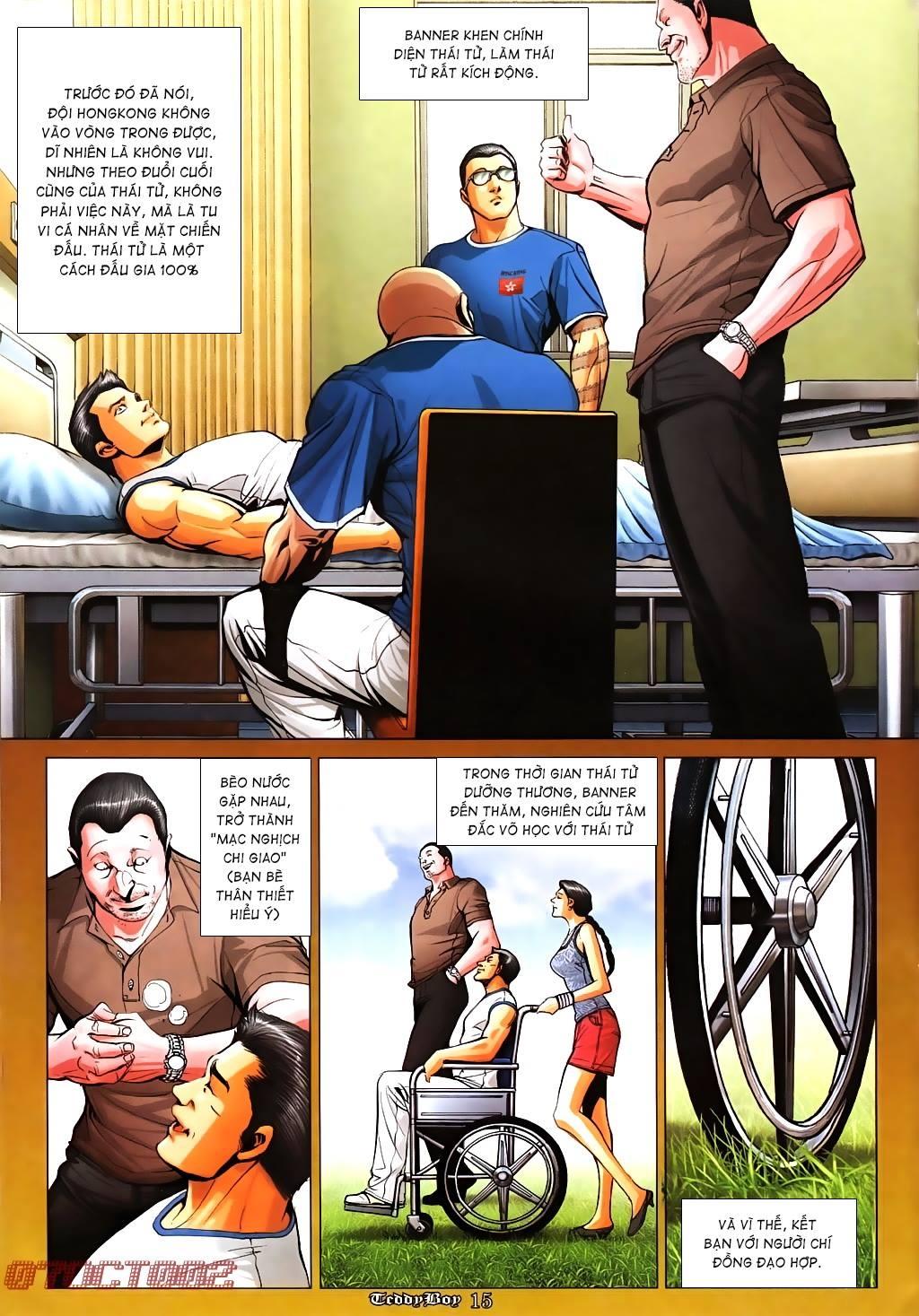 Người Trong Giang Hồ (VietComic) Chap 1011 - Trang 12