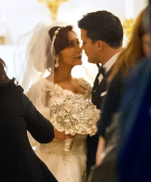 You have said 'yes' | Snooki and Jionni: First pictures of the wedding