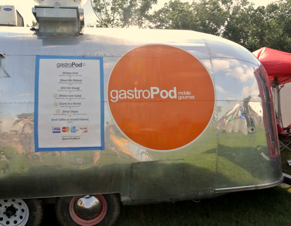 GastroPod Food truck at Bonnaroo music festival in Tennessee