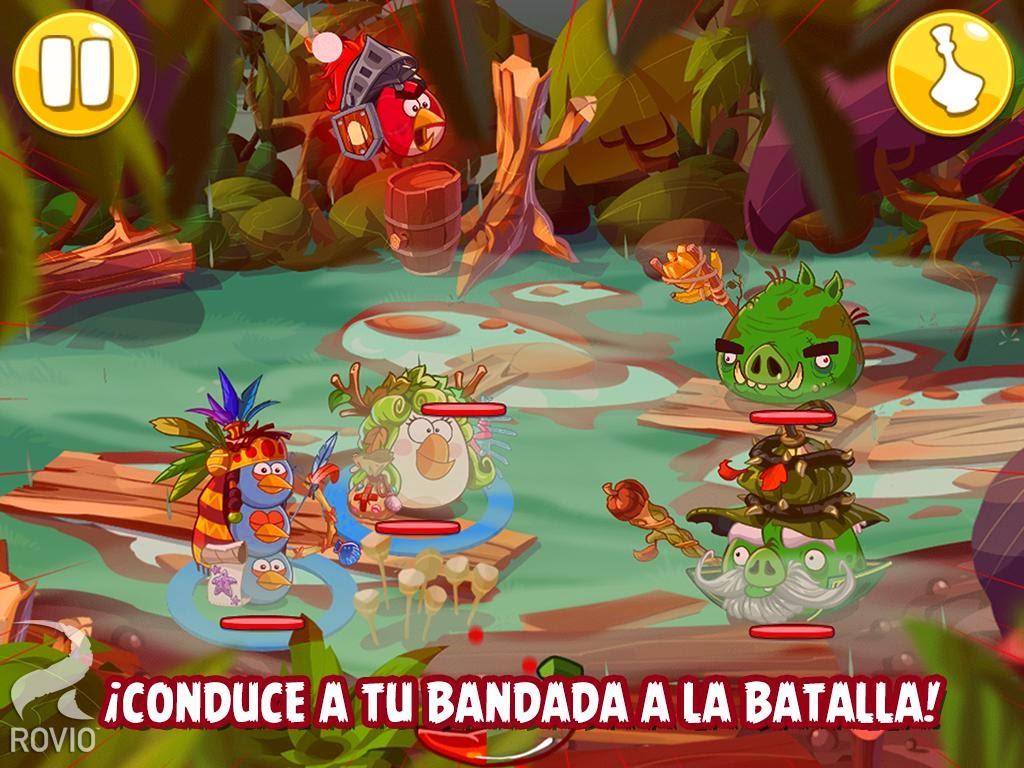 Angry Birds Epic para Android, IOS y Windows Phone, el nuevo juego de rol de Angry Birds
