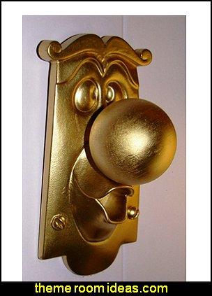 Alice in Wonderland Door Knob Movie Character Display Figure Doorknob Prop