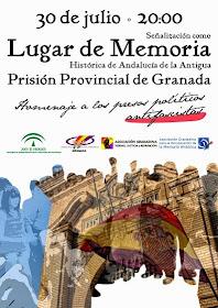 Homenaje ciudadano a los presos políticos antifascistas