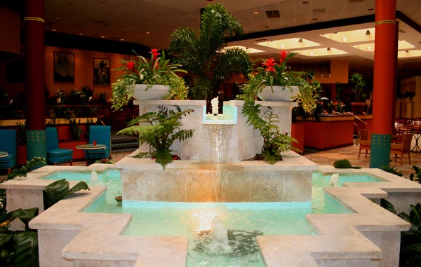 Modern Style Fountains For Luxury Hotels Colours Of Life