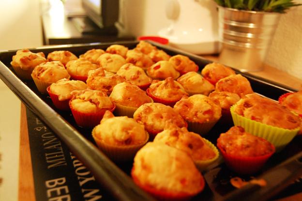 Cake Poivron Chorizo Saint Moret