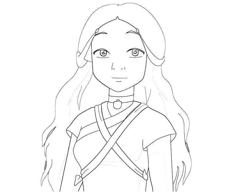 printable-avatar-katara-abilities_coloring-pages