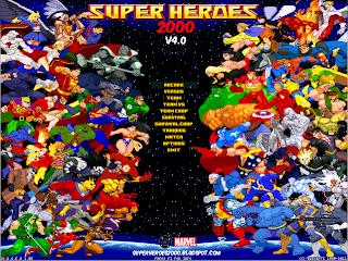 Superheroes 2000 Mugen v4.0