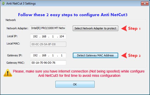 Anti NetCut 3 SnapShots