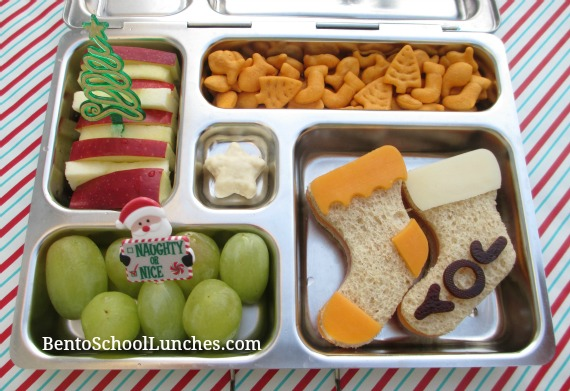 Christmas Stockings Bento